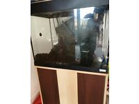Aquarium 90 Litre with Cabinet and Accessories