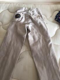 Horse riding trousers and hat