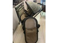 iCandy Peach 4 in Space grey/Olive incl extras..Used for a year..