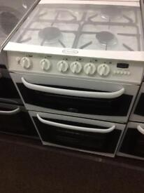 White canon 55cm gas cooker grill & oven good condition with guarantee