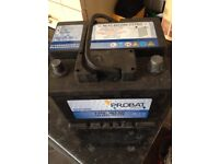 Car battery round terminal