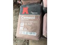 25kg Cement £3 a bag