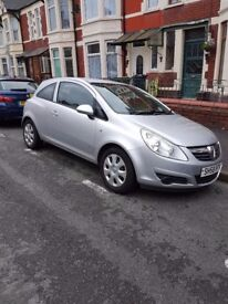 Corsa 1.2, lady owner
