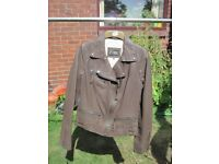 Biker Style Leather Jacket