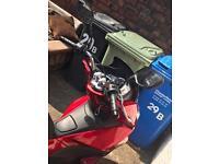 HONDA PCX 125CC RED 2016 PLATE - 3,476 Miles