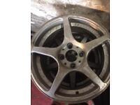 "Cheap Alloy Wheels 4x100 15"""