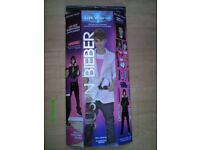 10 X JUSTIN BIEBER LIFE SIZE MURAL/WALL ART (BRAND NEW IN BOX).