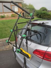 Cycle carrier rear mounted