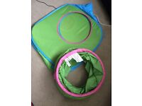 Play tent and tunnel £10 perfect condition