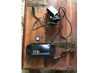 PS Vita blocked online in immaculate condition with 8gb memory and game leads