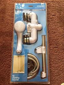 Bath shower mixer set brand new