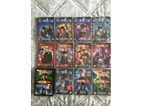 11 Dr Who DVD's