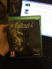Fallout 4 Xbox one with fallout 3