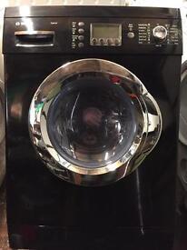 Black Bosch Exxcel washer dryer