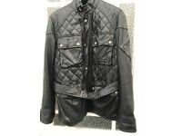 Ralph Lauren Leather Coat/ Jacket Size S Only Worn Once!