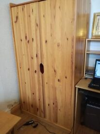 2 identical wardrobes. pick up only