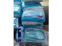 13 packets of Incontinence Europe pads etc