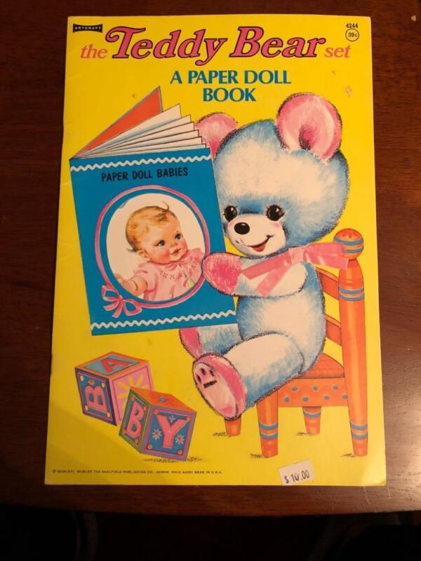 The Teddy Bear Set- Babies- Fashion Paper dolls- Full Color