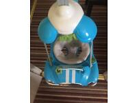 Baby car door bouncer