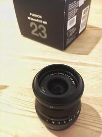 Fuji 23mm f2 R lens