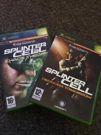 Splinter Cell Bundle for the Original Xbox