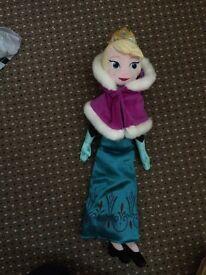 Elsa plush doll