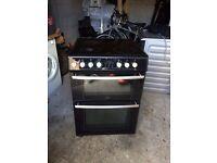 Belling freestanding black electric cooker