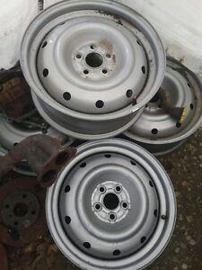 """Subaru 16"""" steel rims"""