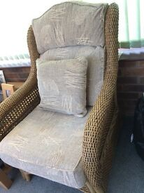 Two conservatory chairs, excellent quality & condition