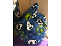 Kids size football beanbag - unused