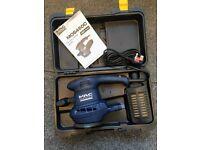 MacAllister B&Q MOS450C Random Orbital Sander 450 watt Variable Speed Boxed Instructions power tool