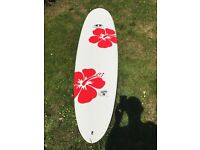 """Epoxy Flying Carpet Surfboard - 6'9"""" with Animal Surfboard Bag included"""