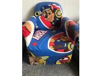 Childrens paw patrol chair