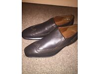 Brown leather Comfort shoes