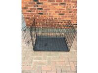 Medium Black Pet Cage