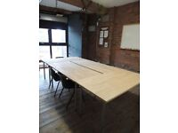 Meeting/Conference room, Workshop/Presentation Space for rent in the Liverpool Baltic Triangle Area.