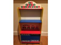 Child's Bookcase with Cupboard