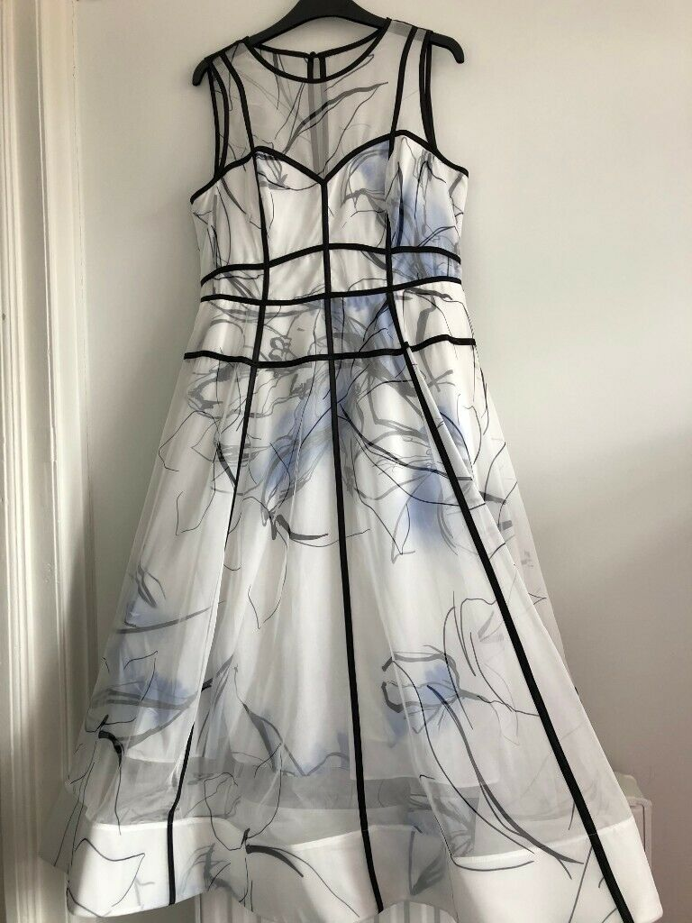 Beautiful genuine Coast special occasion fitted dress. New, never worn. Size 14