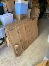Moving House Boxes and Bubble Wrap