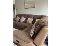 Immaculate corner sofa, still have paperwork, non smoking home