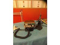 Midland 80 channel CB radio with aerial