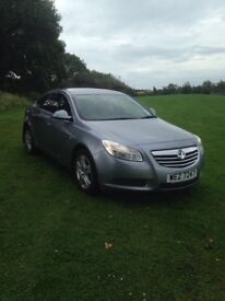 Vauxhall insignia exclusiv 2009 low mileage