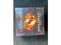 Trivial pursuit Lord of the rings movie trilogy collector's edition