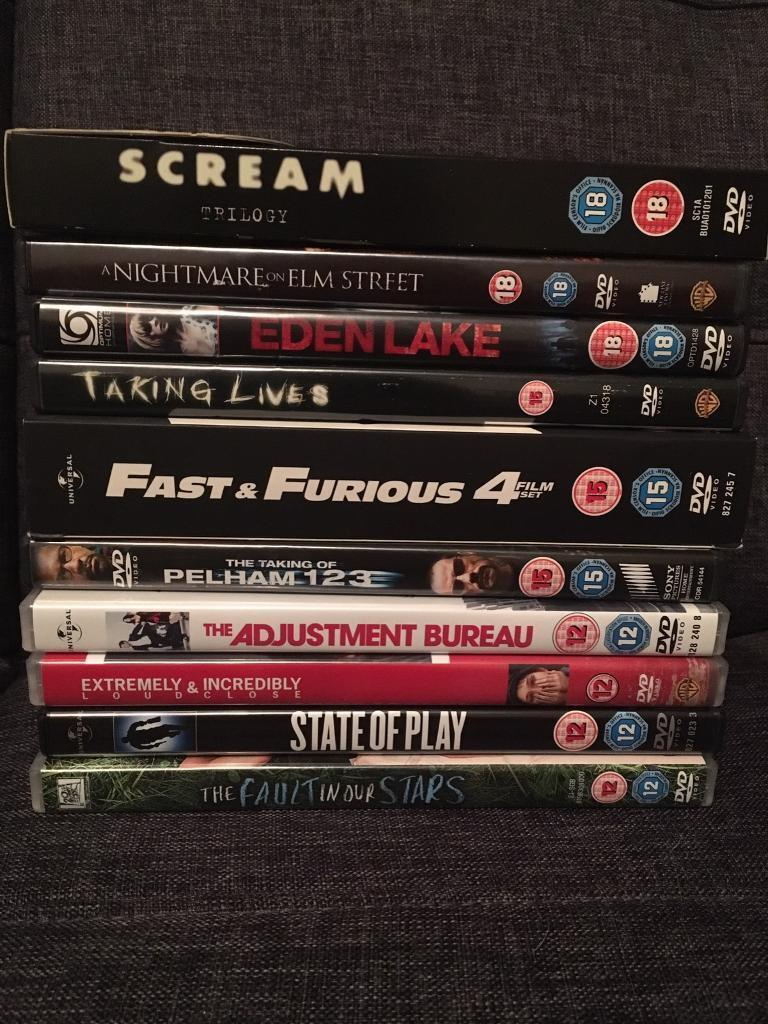 Bundle of DVDs including sets