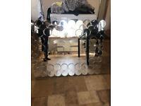 Glass Circles Mirror