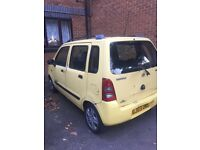 Hi I'm selling my Suzuki wagon, 5 door hatchback, manual