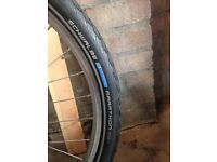 Schwalbe marathon mountain bike/hybrid/ electric bike tyres (pair)