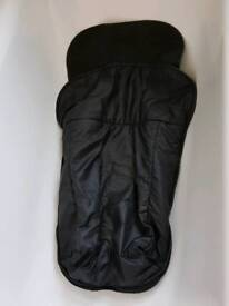 Footmuff / cosytoes for buggy - black