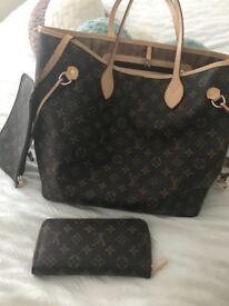 Louis Vuitton Style Neverfull & purse
