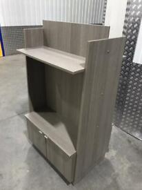 Twin sided shop display, portable, exc cond free local deliv